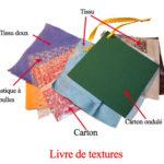 Livre de texture et tissus