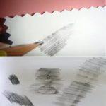 Calquer des objets au crayon de papier