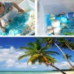 Mini plage à faire soi-même