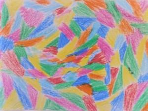 dessin au crayon gras
