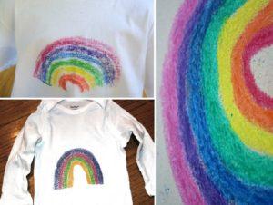 dessiner sur tee shirt avec papier de verre