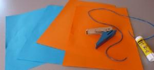 fabriquer éventail en papier
