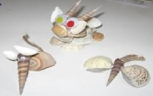 la souris et ses amis en coquillage
