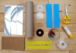 materiel pour fabriquer un kaléidoscope