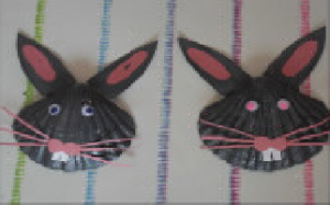 les lapins en coquillage