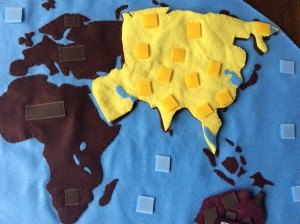 puzzle continent