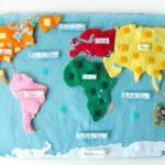 Réaliser une carte du monde en puzzle