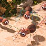 Fabriquer des fourmis géantes en polystyrène