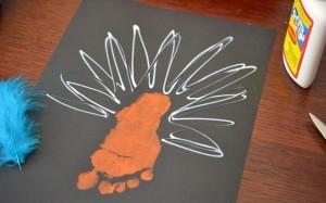 animaux empreinte pied et main