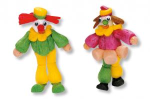 clown en flocons de maïs