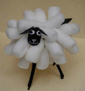 fabriquer mouton flocon de maïs